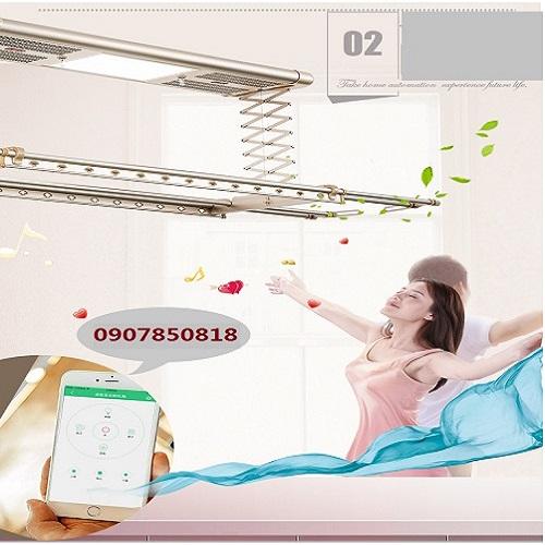 giàn phơi thông minh điều khiển bằng smartphone -DKNV-01 (1)