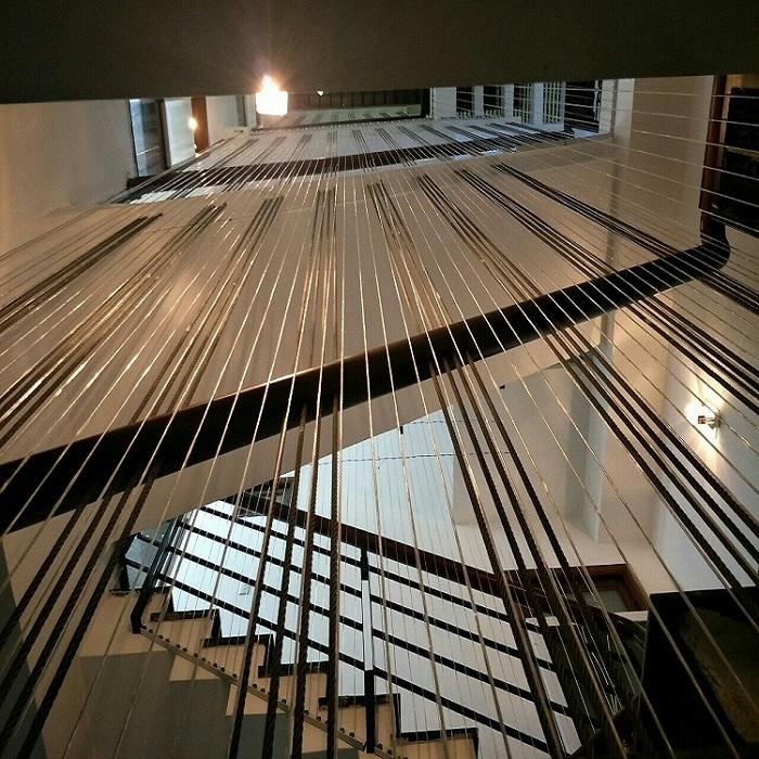 lưới an toàn cho cầu thang
